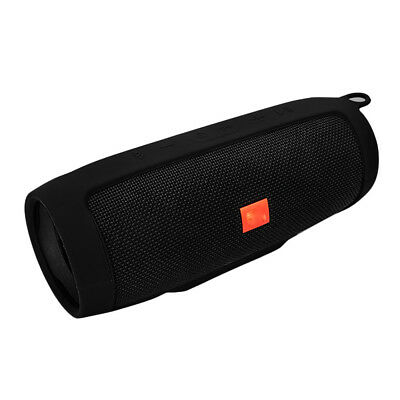 Black For JBL charge3 Bluetooth Speaker Portable Mountaineering Silicone Case UK