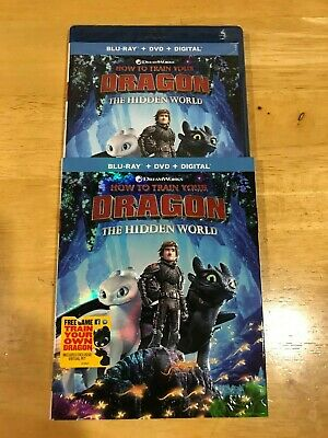How to Train Your Dragon The Hidden World (Blu-ray/DVD, Includes Digital Copy) N