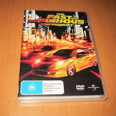 The Fast And The Furious : Tokyo Drift ( Dvd , Region 4 )