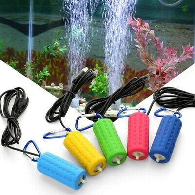 USB Mini Silencieuse Aquarium Fish Tank Filtre Air Pompe à Oxygène Portable Tool