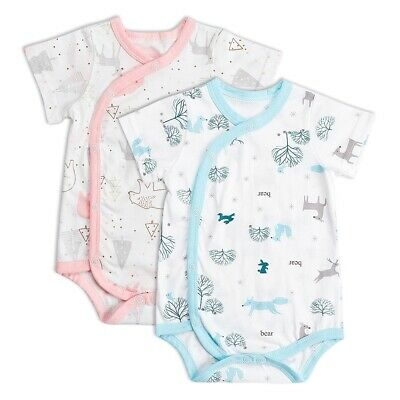 Newborn Infant Baby Boys Girls Soft Cotton Romper Bodysuit Jumpsuit Outfit