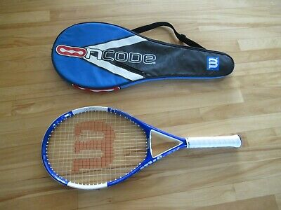 Wilson Ncode N4 Oversize Tennis Racquet Size 4 3/8 HS3 With Cover Exc Condition