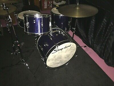 Slingerland Stage Band Kit Vintage 1967 - original with cymbal, h/w and cases