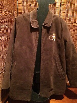 Leather Jacket Suede XL Pooh Bear Walt Disney Vintage 1990s