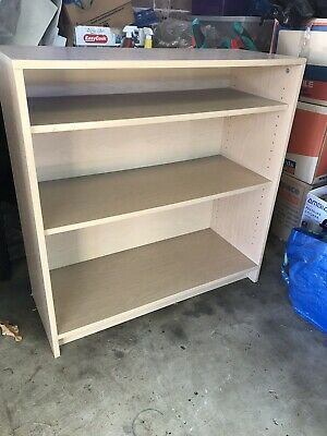 Small Beige Office Bookcase