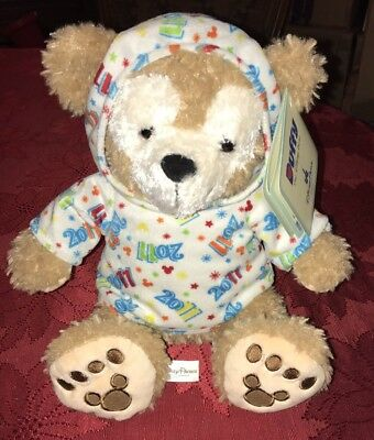 "DISNEY PARKS DUFFY THE BEAR 2011 12"" PLUSH TOY New With Tags"
