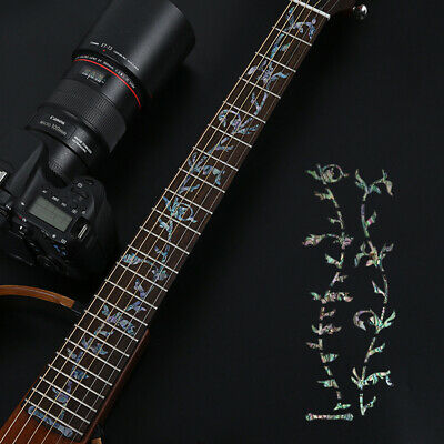 Electric Acoustic Guitar Bass Sticker Inlay Sticker Fretboard Marker Fret Decors