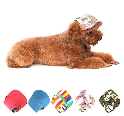 Pet Dog's Hat Baseball Cap Windproof Travel Sports Sun Hats for Puppy Large Hat
