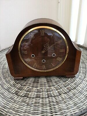 Smiths Mantle Westminster Chime  Clock .( cir 1950)working