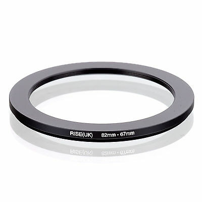 82mm-67mm 82mm to 67mm 82 - 67mm Step Down Ring Filter Adapter for Camera Lens