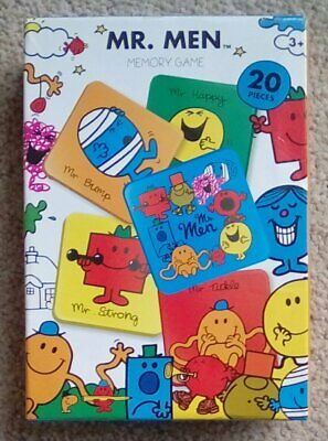 Official Mr Men Memory Game