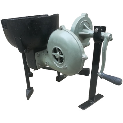 Blacksmith's Hand Blower Pedal Type Handle Fan with Large Forge Furnace