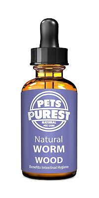 Pets Purest 100% Natural Wormwood Formula | Natural Alternative to Nasty Chem...