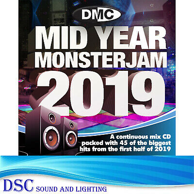 Dmc Mid Year Monsterjam 2019 A Continuous Mix Of 45 Biggest & Best Hits Of 2019