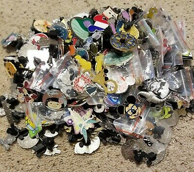 Disney Trading Pins 50 Lot Hidden Mickey Le Free Shipping