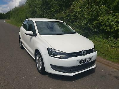 2010 Volkswagen Polo 1.6TDI 75ps SE, ONLY 73,092 MILES, FSH BARGAIN £30 TAX BAND