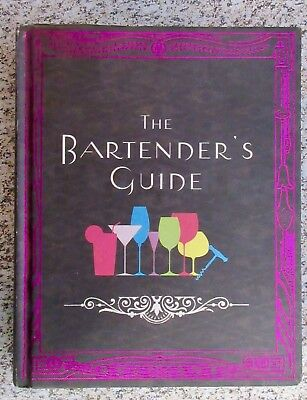 The Bartenders Guide Hardcover Used