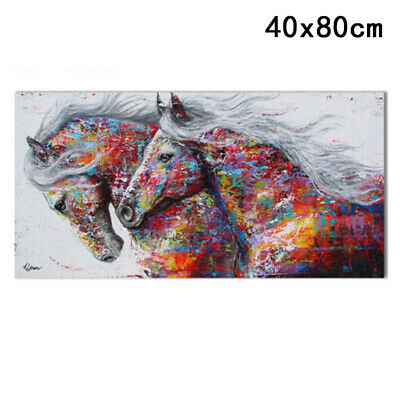 Running Horse Canvas Painting Unframed Poster Wall Art Print Picture Home Decor