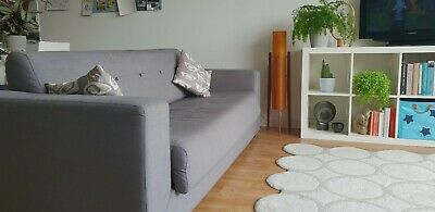 Bo Concept Grey designer double sofa bed