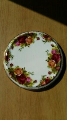 "Royal Albert ""Old Country Roses"" China Teapot Stand"