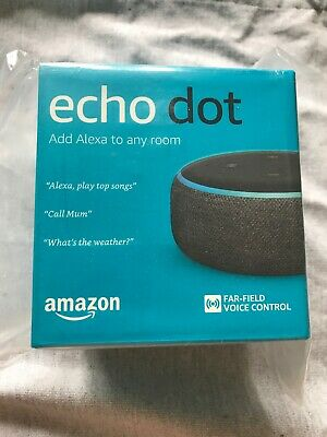 Amazon Echo Dot (3rd Gen) Smart Speaker With Alexa Black