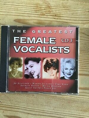 The Greatest Female Vocalists CD3
