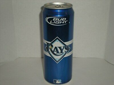 """2008 Bud Light """"Tampa Bay Rays"""" 24oz. empty Micro Craft Beer Can"""