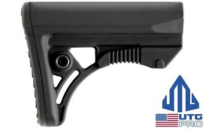 UTG PRO Ops Ready S3 Mil-Spec 6-Position Black Rifle Stock RBUS3BMS