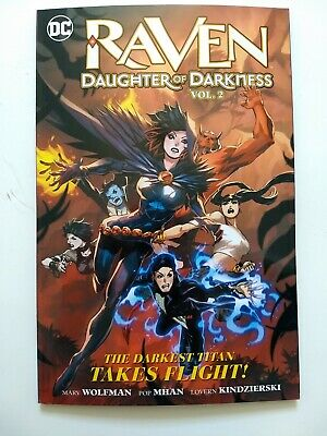 Raven Daughter of Darkness 2, Paperback by Marv Wolfman, Pop Mhan, Lovern (NEW!)
