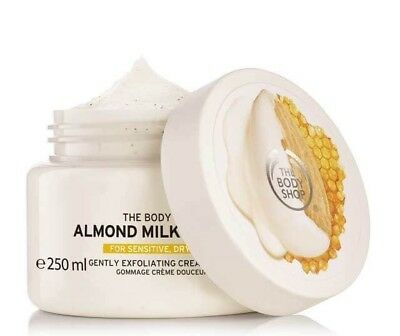 The Body Shop: Almond Milk & Honey Gently Exfoliating Cream Scrub{94185}{250ml}