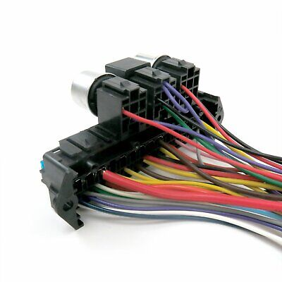 1947 - 1954 chevy truck wire harness upgrade kit fits painless compact  circuit