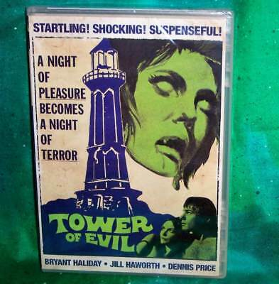 New Rare Oop Scorpion Releasing Jill Haworth Tower Of Evil Horror Movie Dvd 1972