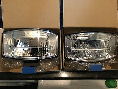 Pair Of Boreman Driving Lamps With LED Strip Light 1001-1685