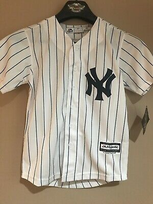 6652f89a NEW New York Yankees - Judge #99 Majestic Men's Pinstripe Jersey Youth Small