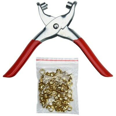 Hole Punch Hand Pliers Rivets Pliers And Rivet Punching Leather Belt tool E I8H4