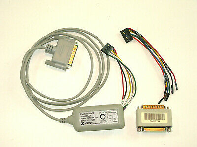Xilinx Parallel Cable III Model DLC5 5V 10mA Typ