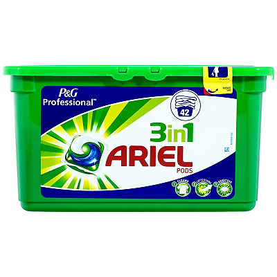 Ariel 3 in 1 PODS Regular Washing Capsules Liquitabs, 42 Washes