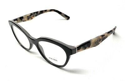 9031ab98de43 New Prada Vpr 11R Tfn-1O1 Grey Havana Women's Authentic Eyeglasses Frame 50- 17