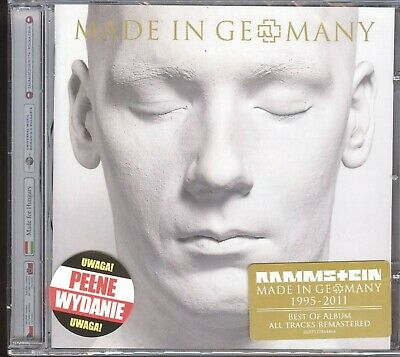 RAMMSTEIN - Made in Germany 1995 - 2011 [ POLISH EDITION ] [CD] NEW