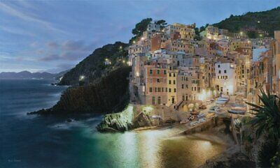 Rod Chase Via Del Amore framed painting