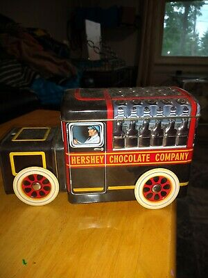 Vintage Hershey's Vehicles Canister #1 Milk Truck
