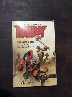 Hellboy The Lost Army A Novel By Christopher Golden