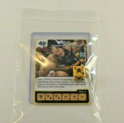 Dice Masters X-MEN First Class Set RARE FOIL Uncommon 4 dice HELLFIRE CLUB