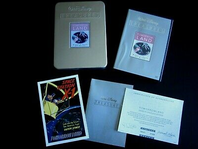 Walt Disney Treasures Tomorrowland 2-DVD Set With Collectible Tin
