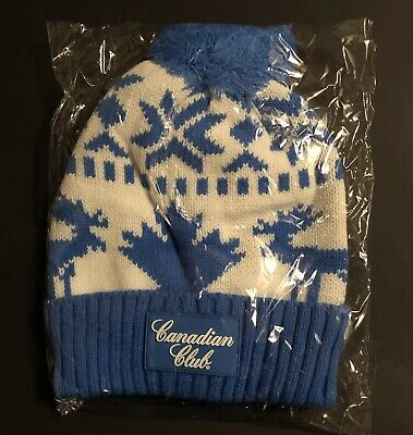 Canadian Club - Beanie - Winter - Snowboarding -  Scotch Whiskey - Hat