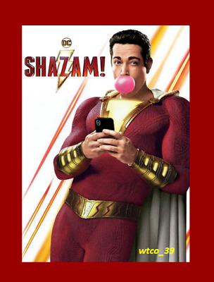 SHAZAM! [DVD][2019] NEW *  Action, Comedy, Fantasy * PRE-SALE SHIPS ON 07/16/19