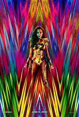 WONDER WOMAN 1984 MOVIE POSTER 2 Sided ORIGINAL 27x40 GAL GADOT