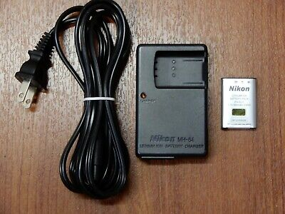 OEM Genuine Nikon MH-64 Charger and EN-EL11 battery for Nikon Coolpix S550 S560