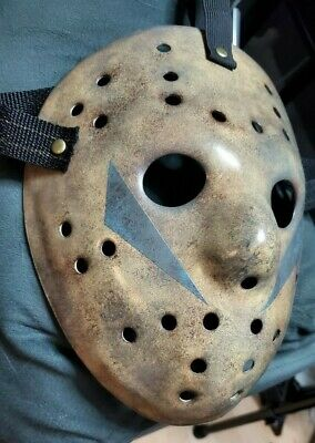 Friday the 13th Part 5 Jason Mask Brand New Hand Painted