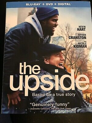Blu-Ray Plus DVD plus digital new release movie The upside